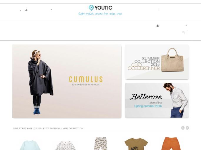 Capture d'écran de la magasin